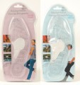 Massage inlegzolen per paar voor man (blauw) of vrouw (roze)