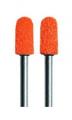 Slijpkapje Podo Oranje ø5mm bol, K80 grof (10 stuks)