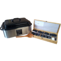 Hotstone-set: Heater Profi GROOT (pan 18 liter)